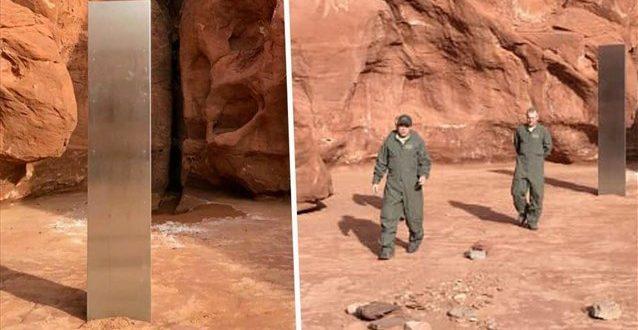 Ένας παράξενος μονόλιθος ανακαλύφθηκε στις ΗΠΑ