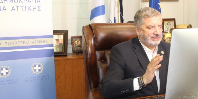 Tο στρατηγικό σχεδιασμό του προγράμματος «Περιφέρεια Αττικής – ηλεκτροκίνηση 2021» παρουσίασε ο Γ. Πατούλης