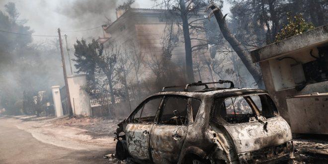 Δήμος Διονύσου: Διαδικασία καταγραφής ζημιών λόγω της πυρκαγιάς στη Σταμάτα